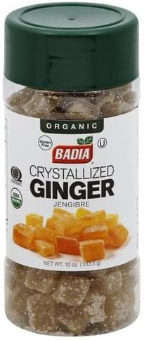Badia Organic, Crystallized Ginger - 10