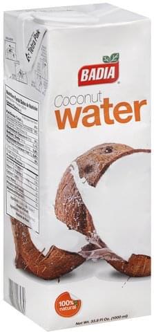 Badia Coconut Water - 33.8 oz