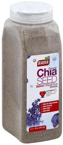 Badia Ground Chia Seed - 16 oz