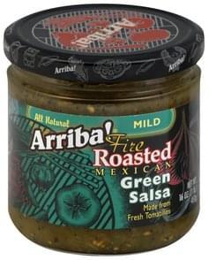 Arriba! Green Salsa Fire Roasted Mexican, Mild