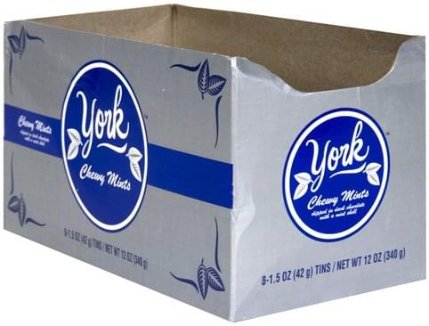 York Chewy Mints - 8 ea