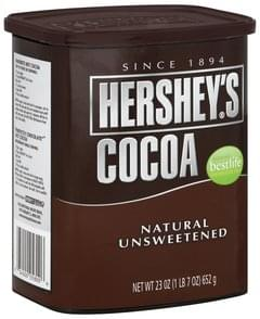 Hersheys Cocoa Natural, Unsweetened