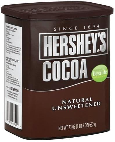 Hersheys Natural, Unsweetened Cocoa - 23 oz