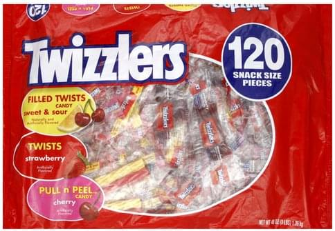 Twizzlers Assortment, Snack Size