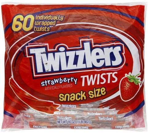 Twizzlers Strawberry, Snack Size