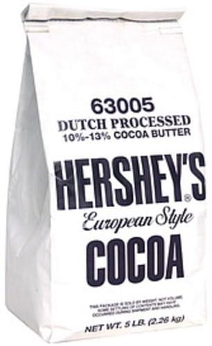 Hersheys European Style Cocoa - 5 lb