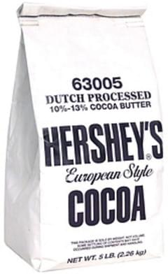 Hersheys Cocoa European Style
