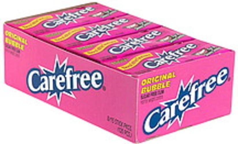 Carefree Sugar Free, Original Bubble Gum - 8 ea