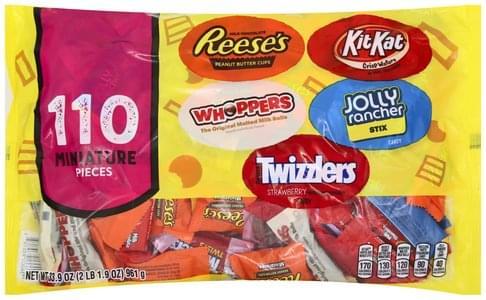 Hershey's Miniature Candy - 110 ea