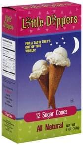 Little Dippers Sugar Cones