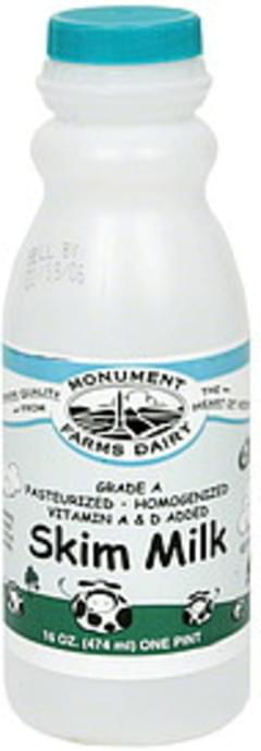 Monument Farms Dairy Milk Skim