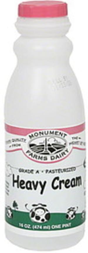 Monument Farms Dairy Heavy Cream - 16 oz