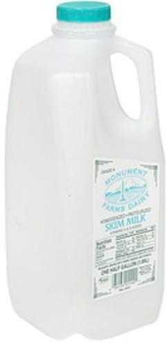 Monument Farms Dairy Milk Skim