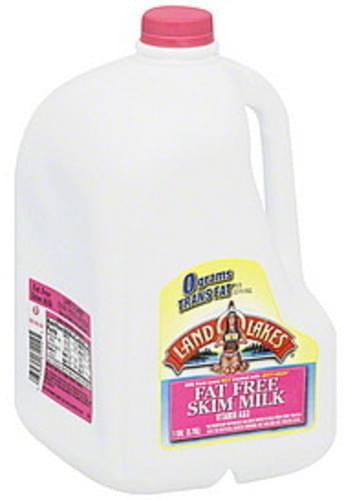 Land O Lakes Fat Free, Skim Milk - 1 gl