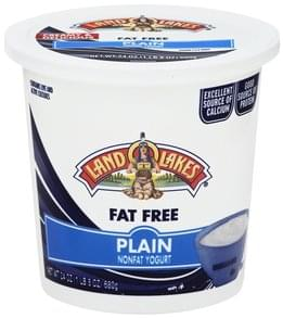 Land O Lakes Yogurt Nonfat, Plain