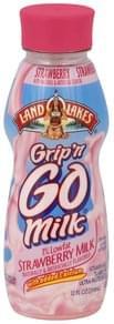 Land O Lakes Milk Lowfat, Strawberry, 1% Milkfat