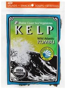 Maine Coast Kelp Wild Atlantic Kombu