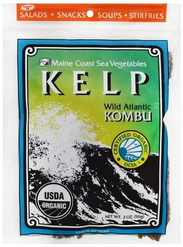 Maine Coast Wild Atlantic Kombu Kelp - 2 oz