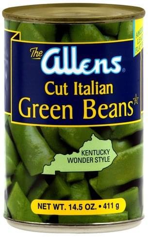 Allens Cut Italian Green Beans - 14.5