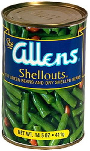 Allens Cut Green Beans and Dry Shelled