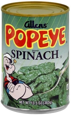 Allens Spinach - 13.5 oz
