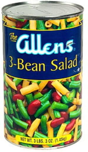 Allens 3-Bean Salad - 3 lb, Nutrition Information | Innit