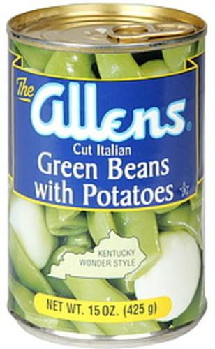 Allens Cut Italian, with Potatoes Green