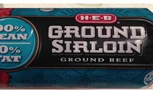 H-E-B Ground Sirloin Ground Beef