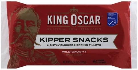 King Oscar Kipper Snacks - 3.54 oz
