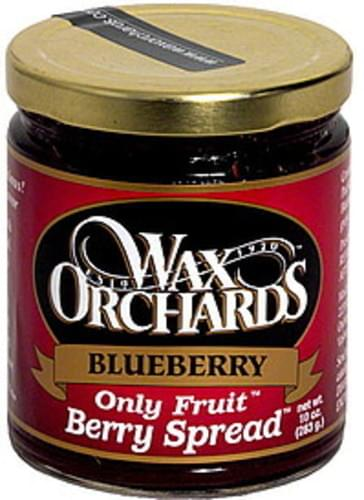 Wax Orchards Blueberry Berry Spread - 10 oz