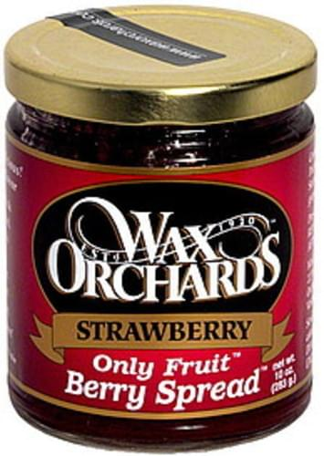 Wax Orchards Strawberry Berry Spread - 10 oz