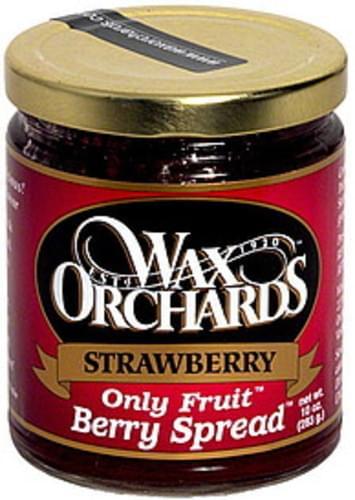 Wax Orchards Strawberry Berry Spread - 10 oz