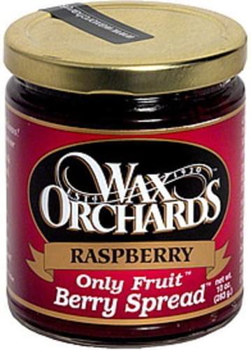 Wax Orchards Raspberry Berry Spread - 10 oz