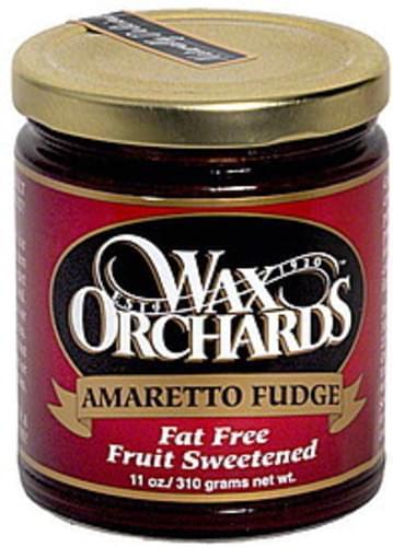 Wax Orchards Amaretto Fudge - 11 oz