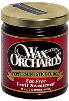 Wax Orchards Peppermint Stick Fudge