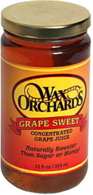 Wax Orchards Concentrated Grape Juice - 12 oz