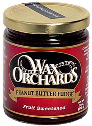 Wax Orchards Peanut Butter Fudge - 11 oz
