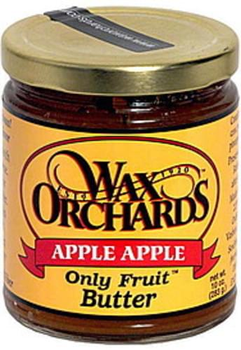 Wax Orchards Apple Apple Butter - 10 oz
