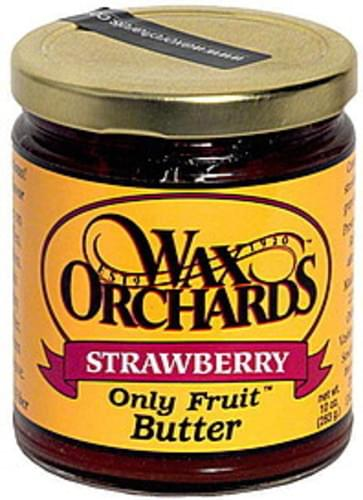 Wax Orchards Strawberry Butter - 10 oz