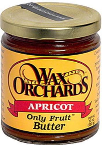 Wax Orchards Apricot Butter - 10 oz