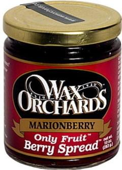 Wax Orchards Marionberry Berry Spread