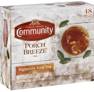 Community Iced Tea Signature, Family Size, Bags