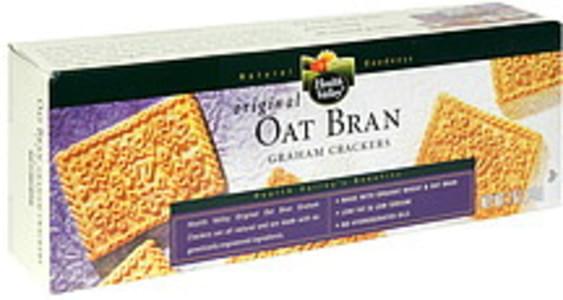 Health Valley Graham Crackers Original Oat Bran