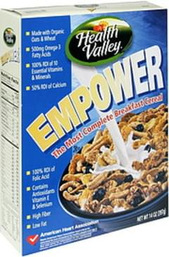 Health Valley Breakfast Cereal The Most Complete