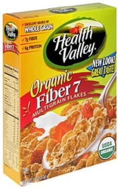 Health Valley Organic Fiber 7 Multigrain Flakes