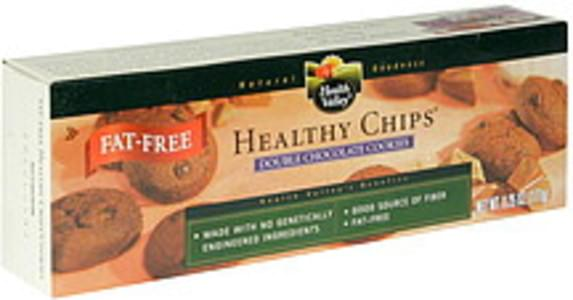Health Valley Healthy Chips Fat-Free, Double Chocolate Cookies