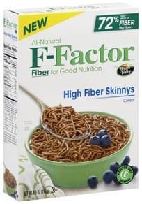 F Factor Cereal High Fiber Skinnys