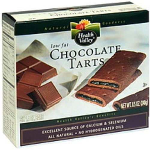 Health Valley Low Fat Chocolate Tarts - 6 ea