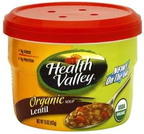 Health Valley Lentil Soup Organic
