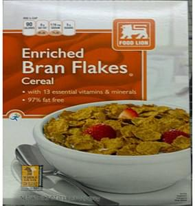 Food Lion Enriched Bran Flakes Cereal